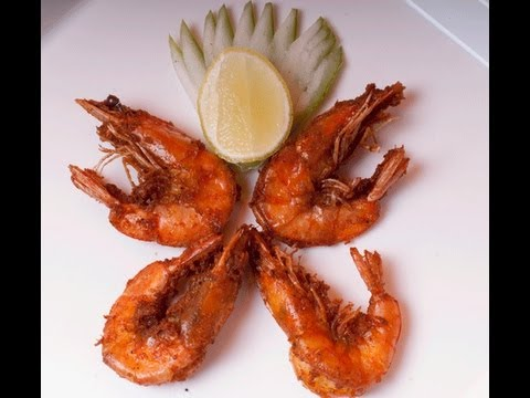 Crispy Fried Shrimp - Prawns with Shell on