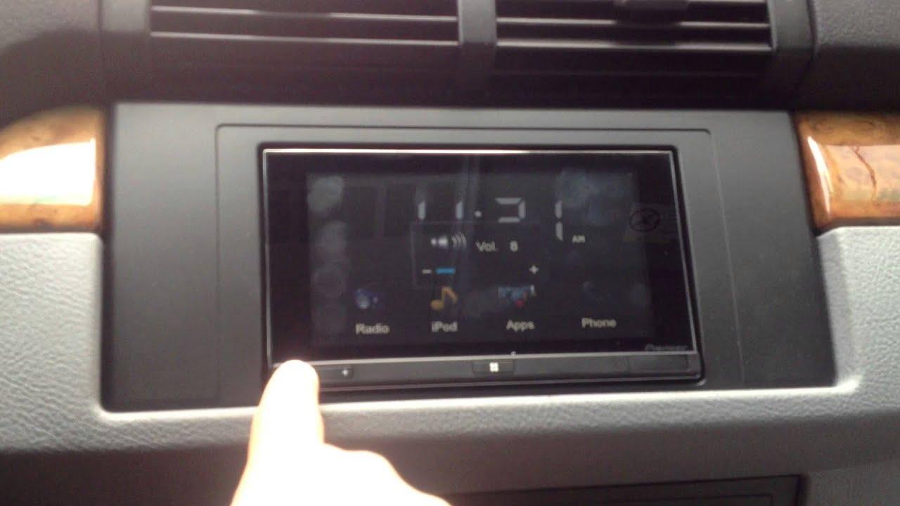2002 BMW X5 Back Up Camera Pioneer App Radio SPH DA02