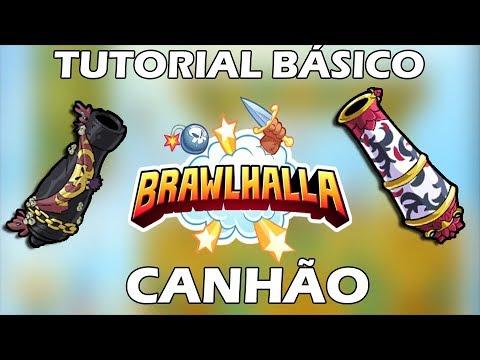 Brawlhalla - Tutorial BÁSICO - Canhão
