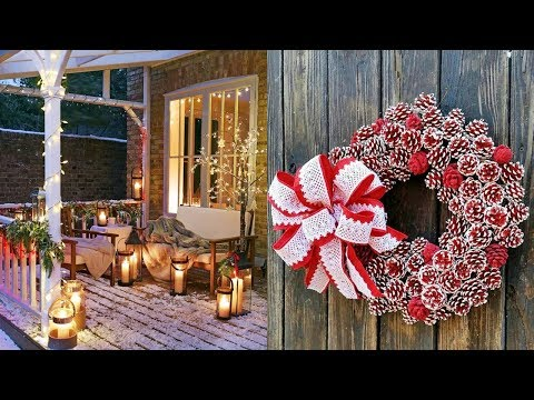 DIY ROOM DECOR 28 EASY CRAFTS IDEAS AT CHRISTMAS 2018