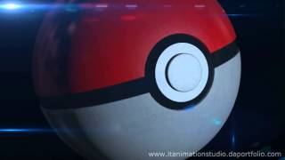 pokeball intro animation sample