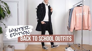 Back to School Clothes for Guys | Winter to Spring Casual Men's Outfits