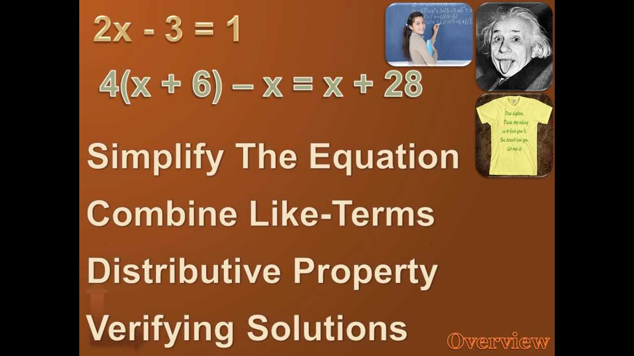 algebra 1 solving multi step equations part 2 youtube. Black Bedroom Furniture Sets. Home Design Ideas