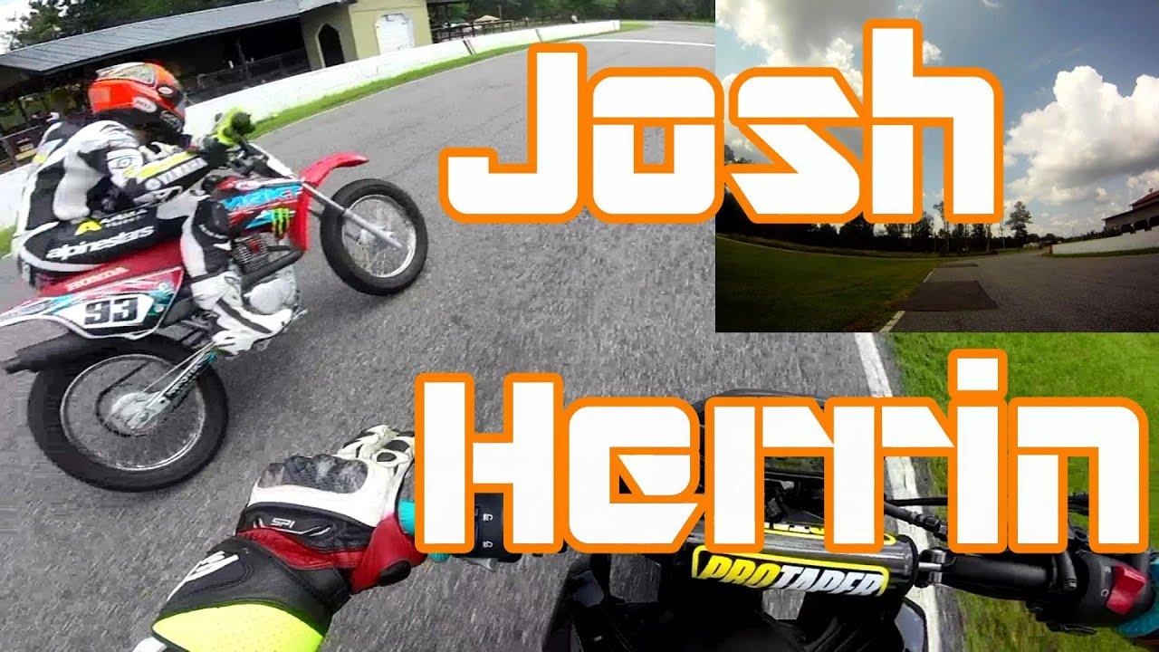 Racing with Josh Herrin On the Honda Grom