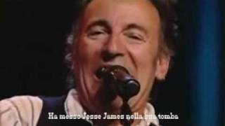 Watch Bruce Springsteen Jessie James video