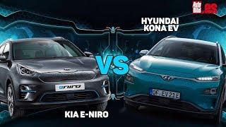 Cara a cara eléctricos: Hyundai Kona EV vs Kia e-Niro, ¿cuál eliges?