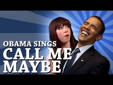 Barack Obama Singing Call Me Maybe...