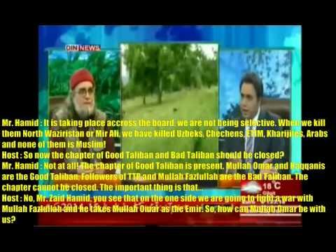 Afghanistan : (USA / US) C.I.A helps Pakistani Taliban: TV talk show Pakistan