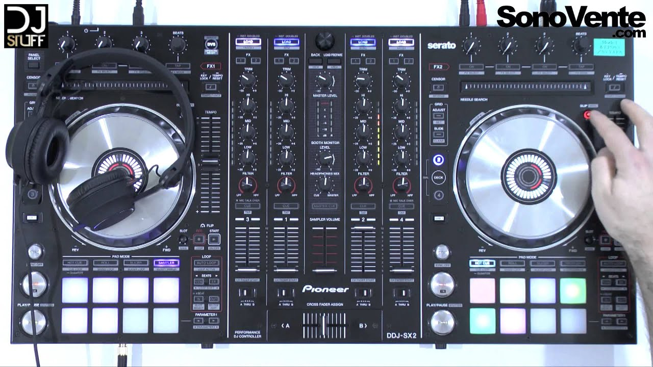 demo controleur dj pioneer ddj sx2 youtube. Black Bedroom Furniture Sets. Home Design Ideas
