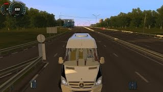 City Car Driving Mercedes Sprinter