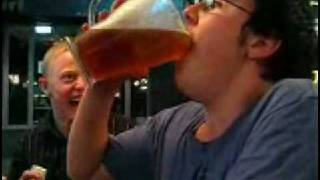 Pitcher of Beer Down in 5 Seconds