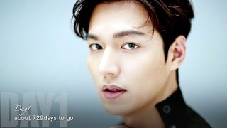Day1:  always with Lee Min Ho