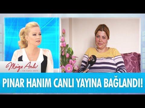 Pınar Hanım canlı yayına bağlandı - Müge Anlı İle Tatlı Sert 29 Kasım 2017