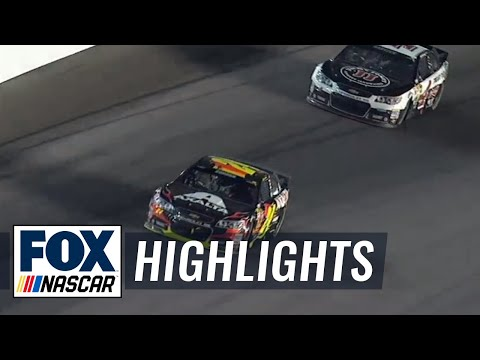 Jeff Gordon Becomes 9th Different Winner - Kansas - 2014 NASCAR Sprint Cup
