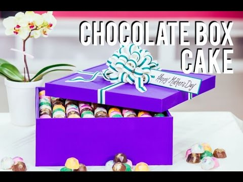 How to Make a Box of Chocolates CAKE for MOTHER'S DAY! Handmade chocolates, buttercream & ganache!