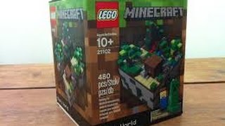 Lego Minecraft Review!