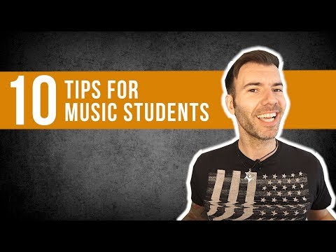 10 TIPS TO GET THE MOST FROM YOUR MUSIC COURSE / MUSIC DEGREE