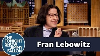 Video Jimmy Stole Fran Lebowitz's