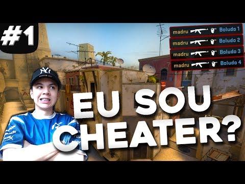 ME ACUSARAM DE CHEATER - 39 Kills - Highlight da live CS:GO