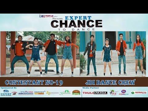 Contestant No 19||JDI DANCE CREW|| Ghin Ghin Bajyo || Samir Acharya Song|| Chance To Dance