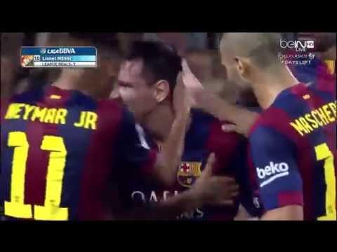 Messi Goal Vs Eibar video
