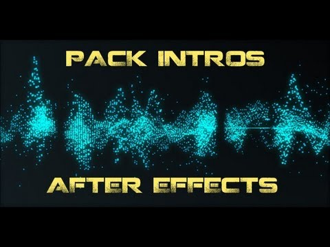 Descargar Intros After Effects  CS4/5/6