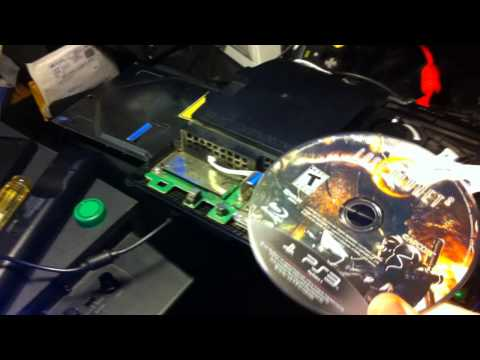 PS3 repair tip - won't spin disc. won't read disc
