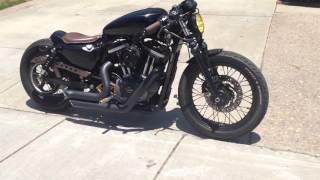 2010 Harley Davidson Nightster 1200xln Roland Sands Design inspired Cafe Racer