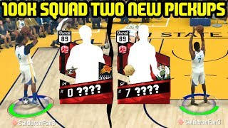 100K SQUAD #3! TWO NEW BAD*$$ PICKUPS! NBA 2K17 MYTEAM ONLINE GAMEPLAY BUDGET