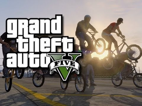GTA 5 Online Multiplayer Funny Gameplay Moments! #4 (GTA V Helicopters, Bikes, And Jets!)