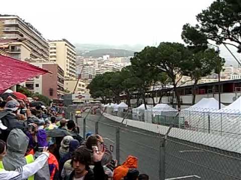 GP Monaco 2008 Start (view from Block X1 Rang D)