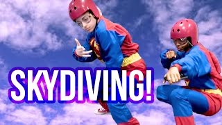 GOING SKYDIVING! | Baby Ariel