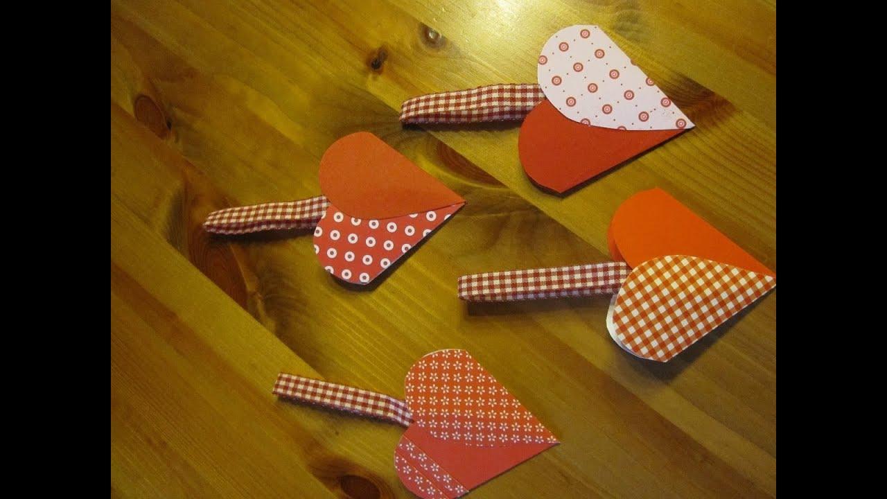 Basteln mit papier herztasche basteln bastelideen for Weihnachtsgeschenke basteln fa r erwachsene