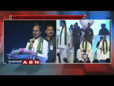 CM KCR speech at Rythu Bandhu Insurance Scheme Awareness Conference | Part 1
