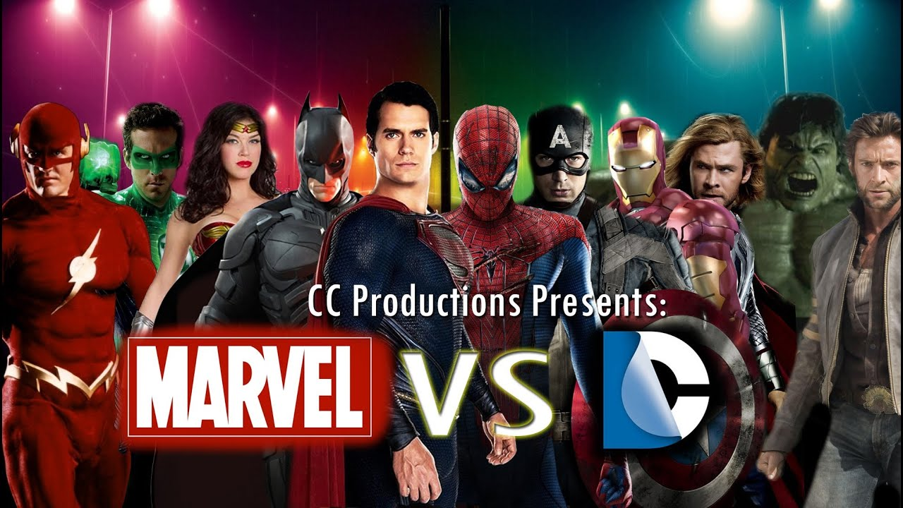 marvel versus dc comics theatrical trailer cc productions