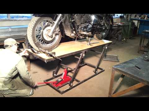 подъёмник для мотоцикла своими руками термобелье подходит для