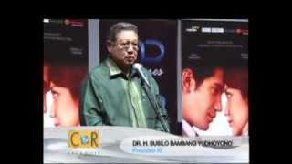 Air Mata SBY di Pemutaran Perdana Film Habibie & Ainun
