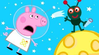 Peppa Pig Official Channel | Peppa Pig on the Moon! 🌔50th Anniversary of Moon Walk Special