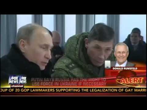 Rumsfeld: Putin Punching Above His Weight, U.S. Isn't Punching At All