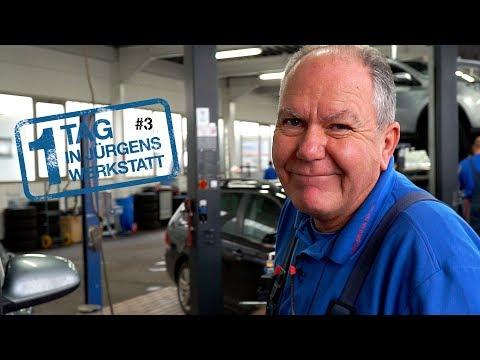 1 Tag in Jürgens Werkstatt - Teil 3   Software lässt ein Bremslicht leuchten & ein geladener Benz