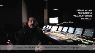 "Kamal Haasan updates on ""UTTAMAVILLAIN"""