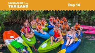 [Day 14 of 21] Mangrove Kayak Adventure - Thailand Tour   BACKPACKING TOURS