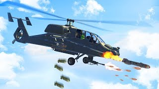 SECRET $15.000.000 ATTACK HELICOPTER! (GTA 5 DLC)