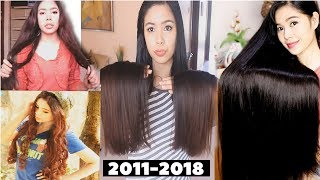 My Hair Growth & Road To Healthy Hair Journey On YouTube (2011-2018) Then & Now-Beautyklove