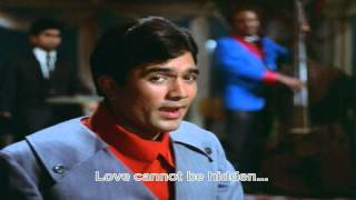 Pyar Deewana Hota Hai (Eng Sub) [Full Video Song] (HD) With Lyrics - Kati Patang