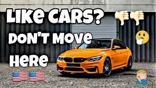 Top 5 WORST States for Car Enthusiasts