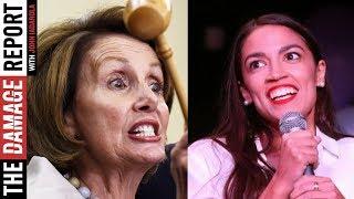Alexandria Ocasio-Cortez Playing Politics With Pelosi