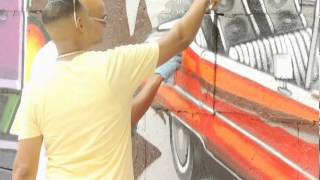 DJ Kool Herc - Godfather of Hip Hop - Honored with Mural in the Bronx