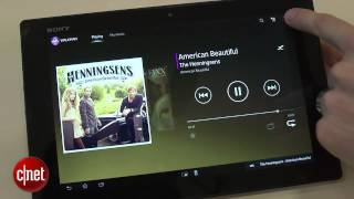 A Closer look at Sony Xperia Tablet Z software