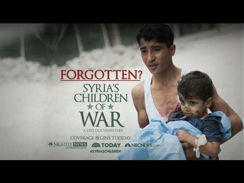 FORGOTTEN? Syria's Children of war